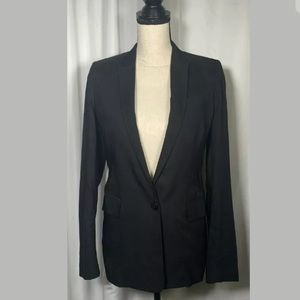 Stella McCartney Womens Black One Button Blazer